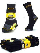 CAT Caterpillar Arbeitssocken, 3 Paar, Schwarz,Socken, 41-45, Strümpfe