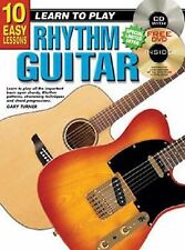 CP69102 - 10 Easy Lessons Learn to Play Rhythm Guitar BK/CD/DVD Gary Turner Pap