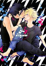 Final Fantasy 7 VII Doujinshi Comic Book Zack Fair x Cloud Strife Yes My Lord