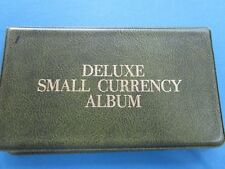 Small Currency Album Used