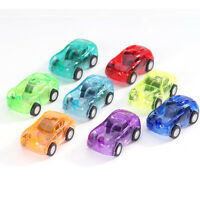 1Pc Mini Racing Pull Back Cars Fun Kids Party Bag Fillers Toy Children Loot Boys