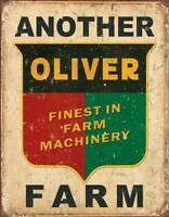 Another Oliver Farm Tin Sign 13 x 16in