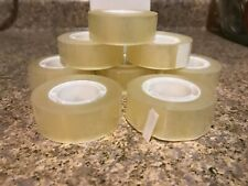 """96 Rolls Clear Transparent Office Tape 3/4"""" x 36 Yards"""