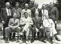8x10 1939 Baseball Hall of Fame Babe Ruth PHOTO First Induction Ceremony Group