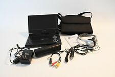 "Audiovox D1917PK Portable 9"" LCD Monitor DVD Player AC & Car Charger Adapter"