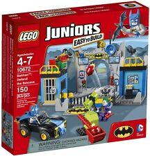LEGO #10672 Juniors Super Heroes DC Batman Defend the Batcave Set 150pcs