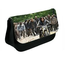 Daryl Dixon, The Walking Dead Black Canvas Pencil Case, Make-Up Bag