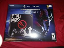 Sony Playstation 4 PS4 Pro Star Wars Battlefront 2 Limited Edition Console 1TB
