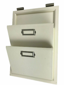 Pottery Barn Daily Organization System - Hanging Letter Bin, Painted White Wood