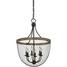 Quoizel Willowstone 6 Light Chandelier, Classic Grey - WSE5206CG