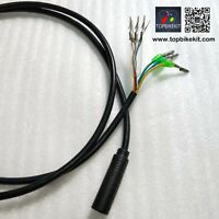 Ebike motor cable with hall connector 9pins motor cable 1.2m for electric bike