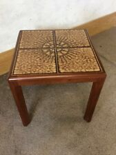 VINTAGE MID CENTURY TEAK G PLAN TILED TOP TABLE 1960s
