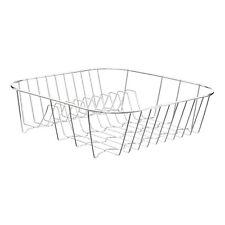 Premier Housewares lavello PIASTRA CROMATA Holder dish rack drainer asciugatura NUOVO