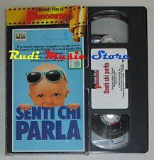 film VHS SENTI CHI PARLA J. Travolta K. Alley CARTONATA PANORAMA (FP2 * ) no DVD