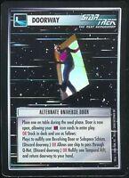 Star Trek CCG Alternate Universe Door Foil Promo Rare