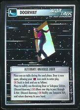 Star Trek CCG Alternate Universe Door Foil Promo Rare