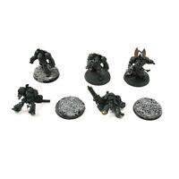DARK ANGELS 5 deathwing terminators #2 Warhammer 40K terminator squad