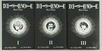 Death Note Black Edition 1,2,3 Paperbacks Volumes 1 to 6 Viz Media
