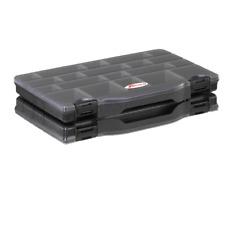 Double Boîtes plastiques + compartiments + séparateurs amovibles