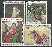 Postfrische Briefmarken aus Frankreich & Kolonien mit Kunst-Motiv