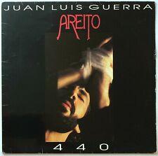 EXCELLENT ORIGINAL JUAN LUIS GUERRA 440 1992 AREITO SPAIN LATIN VINYL LP INSERT
