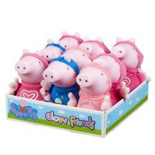 "PEPPA PIG 7"" TALKING GLOW FRIENDS PLUSH - GEORGE OR PEPPA NEW"