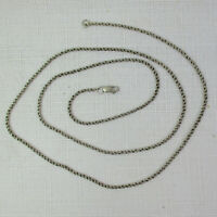 Pre-Owned SOLID Sterling Silver 925 Twisted Chain - 7.2 Grams - 24 Inches Long