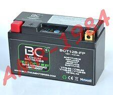 BATTERIA MOTO BC LITIO BCT12B FP LITHIUM = YUASA YT7B-BS  = YT9B-BS = YT12B-BS