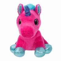 "Sparkle Tales Starlight Hot Pink Unicorn  Super Soft Plush Toy - 7"" Aurora World"