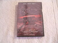 """Axel Rudi Pell """"Knight Treasures Live & More"""" 2002  2DVD Steamhammer New Sealed"""