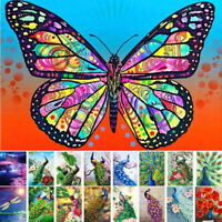 Full Drill 5D Diamond Painting Butterfly Art Cross Stitch Kit Embroidery Decor ✅
