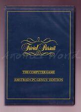 Trivial Pursuit Genius Edition (Domark) AMSTRAD-Big a conchiglia-GC & COMPLETA