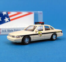 Busch H0 49078 FORD CROWN VICTORIA US State Police 30 MARYLAND OVP HO 1:87 box