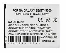 NEW Battery for SamSung Galaxy S 3 III i535 T999 L710 i9300 WITH NFC 2100 MAH