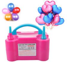 Portable High Power Electric Balloon Pump Two Inflator Air Blower 110v 600w