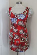 size 10 red tunic from white stuff brand new stunning