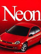 2000 Dodge Neon 20-page Original Car Sales Brochure Catalog