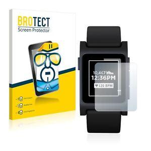 Pebble 2 Black,  2 x BROTECT® HD-Clear Screen Protector, hard-coated