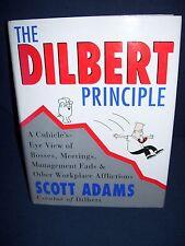 The Dilbert Principle Scott Adams Hardcover First Edition 1996