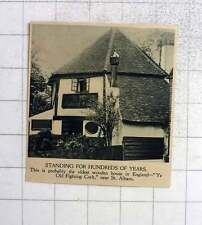 1919 Oldest Wooden House In England, Ye Old Fighting Cock St Albans