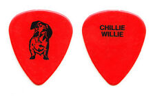 Lita Ford Chillie Willie Dog Red Guitar Pick - 1991 Dangerous Curves Tour