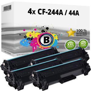 4 XXL TONER für HP CF 244a HP-44A LaserJet Pro M15a M15w MFP M28a MFP M28w