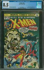 X-Men #94 CGC 8.5 1st appearance of New X-Men in title, 2nd Nightcrawler, Storm