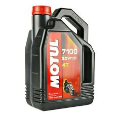 MOTUL 7100 SYNTHETIC OIL 20W-50 4 LITER 104104 82-2053