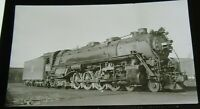 Vintage B&W RR Photo Positive CRIP Rock Island 5047 4-8-4  from Negative 4C53