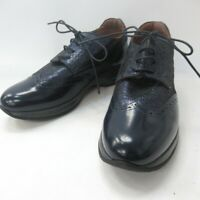 Alberto Guardiani Sport Ladies Blue Glitter Lace Up Shoes - Made in Italy - UK4