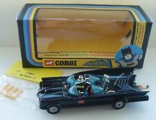 BATMAN - CORGI 267 WHIZZWHEELS BATMOBILE 1970's