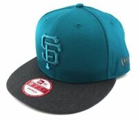 A23 NEW ERA 9FIFTY Snapback Baseball Cap SAN FRANCISCO GIANTS Pop Tonal Blue M/L