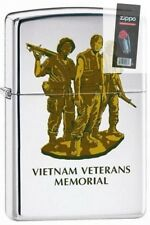 Zippo 250 vietnam veterans memorial Lighter + FLINT PACK