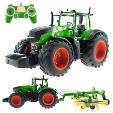 efaso E351-003 1:16 2,4 GHz RC Tracteur avec Faneuse Lumière et Effets sonores